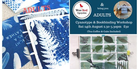 Adults Cyanotype & Bookbinding Workshop - Bookbinding with Cass tickets