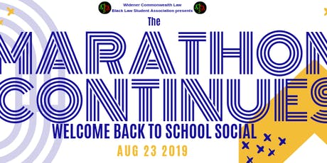 Welcome Back To School Social Event tickets