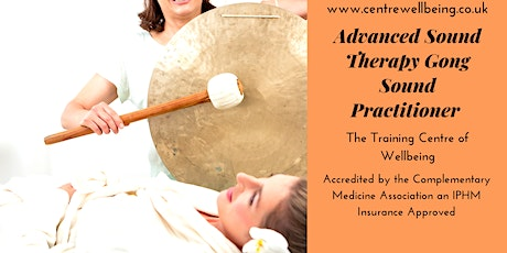 Advanced Sound Therapy Gong Sound Practitioner  tickets