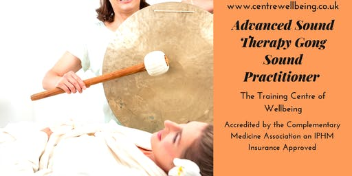 Advanced Sound Therapy Gong Sound Practitioner