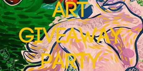 Jesscmo x ItsJulissa ART GIVEAWAY PARTY 2019 tickets