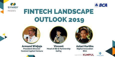 Fintech Landscape Outlook 2019 (Insight from Banking, Startup, and VC) tickets