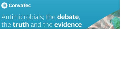 Antimicrobials in woundcare; the debate, the truth and the evidence tickets