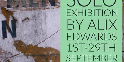 WoMen and Men solo art exhibition by Alix Edwards launch event