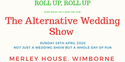 The Alternative Wedding Show Merley House, Wimborne