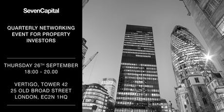 SevenCapital's Q3 Property Investor Networking Evening tickets