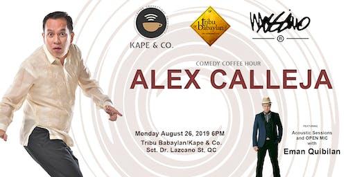 Kape & Co presents ALEX CALLEJA feat. EMAN QUIBILAN