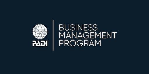 PADI Business Management Program - Cape Town