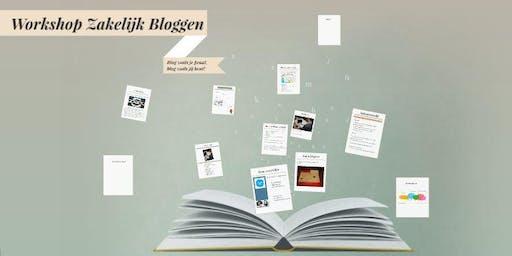 Workshop Zakelijk Bloggen Zomeractie