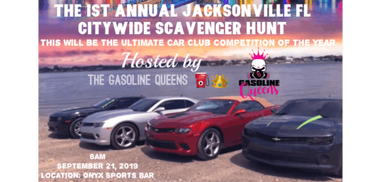 Gasoline Queens Presents: 1st  Annual Scavenger Hunt