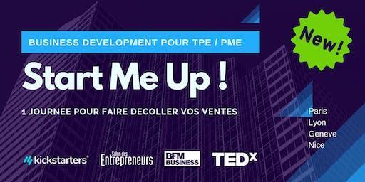 Start Me Up ! Geneve : 1 journée pour faire décoller vos ventes.