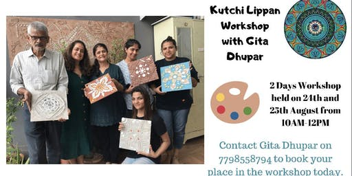 Kutchi Lippan Workshop