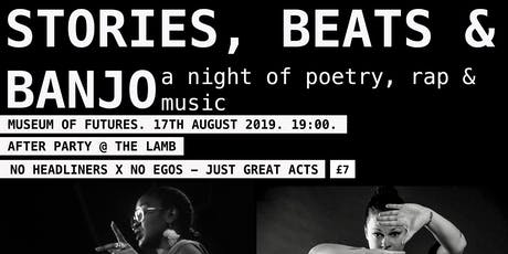 Stories, Beats and Banjo tickets