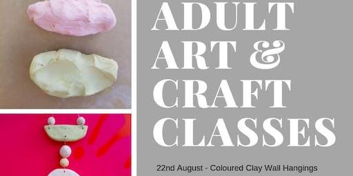 Adult Art & Craft Night: Coloured Clay Wall Hangings