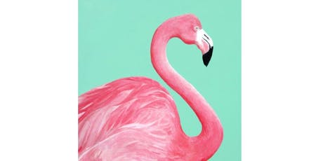 All Ages Paint a Flamingo Presented by The Artists' Garden tickets