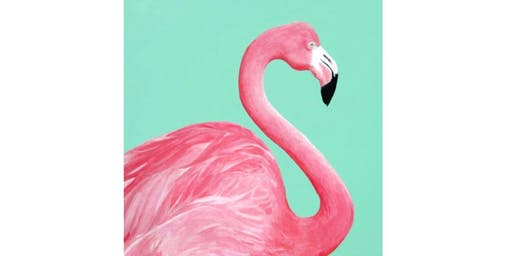 All Ages Paint a Flamingo Presented by The Artists' Garden