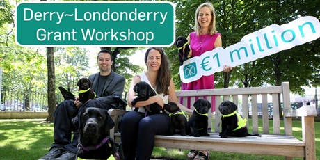 The Ireland Funds Grant Workshop 2019 - Derry~Londonderry tickets
