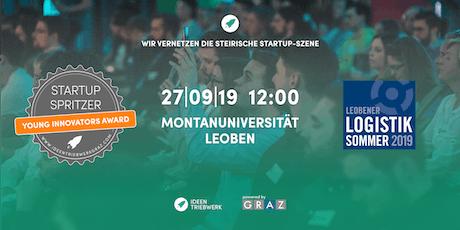 Special Startup Spritzer @ Leobener Logistik Sommer Tickets