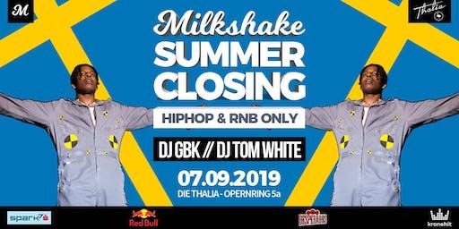 MILKSHAKE - SUMMER CLOSING 2019 // DIE THALIA