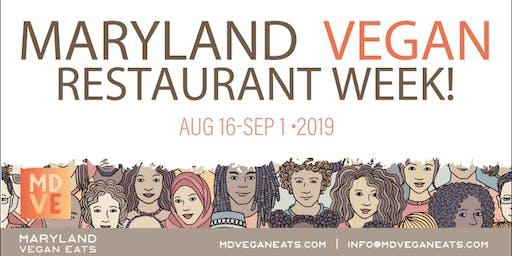 MD Vegan Eats Restaurant Week - Summer Edition
