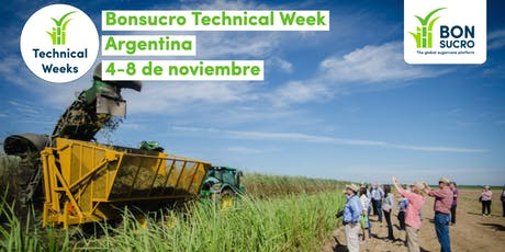 Bonsucro Technical Week Argentina entradas