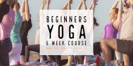 Yoga for Beginners: 6 Week Intro Course tickets