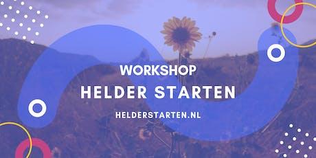 Workshop Helder Starten met Ondernemen tickets