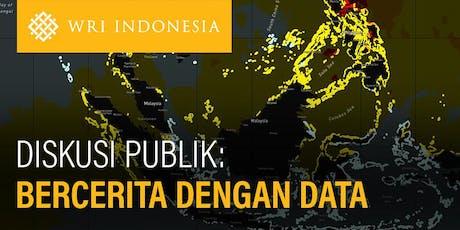 Diskusi Publik: Bercerita dengan Data tickets