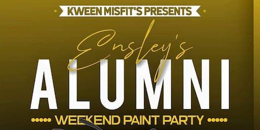 Ensley Alumni Weekend Paint Party