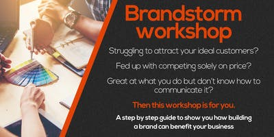 Brand-storming workshop with PAW Design
