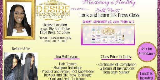 Mastering A Healthy Silk Press