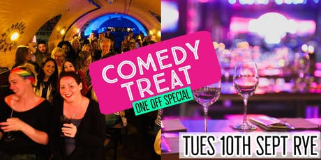 Comedy Treat in the Kino - Rye tickets