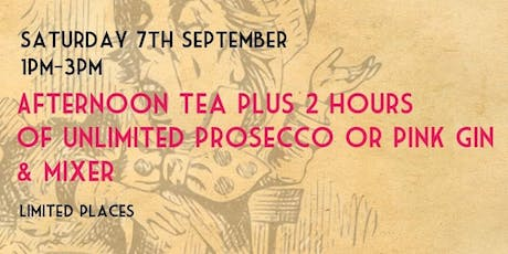 Unlimited Afternoon Tea tickets