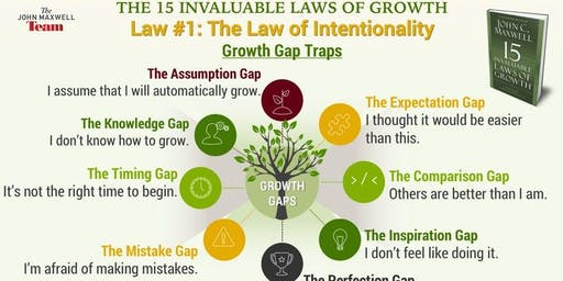 15 Laws of Growth Masterclass (In-Person)