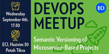 DevOps Talk -  Semantic Versioning of Microservice-Based Projects Meetup tickets