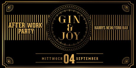 Gin & Joy - Die After Work Party (Opening) Tickets