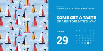 Summer Social at MentorMate Varna