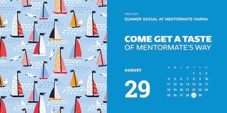 Summer Social at MentorMate Varna tickets