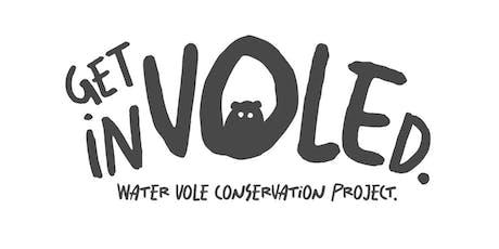 """""""Get InVOLEd"""" Water Vole Training Workshop tickets"""