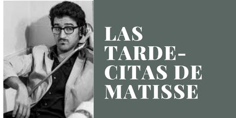 """Las tarde-citas de Matisse"" - Albert Sanz invita a: Carme Canela entradas"