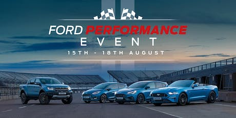 Ford Performance Event tickets