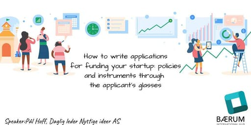 How to write applications for funding your startup