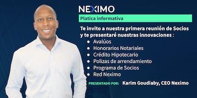 Presentación de NEXIMO en Monterrey, la nueva inmobiliaria digital.