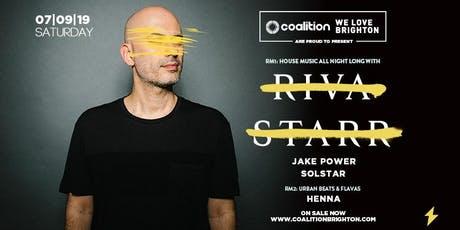 Riva Starr [LIVE at Coalition] tickets
