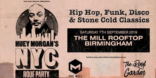 Huey Morgan's NYC Roof Party (The Mill, Birmingham)