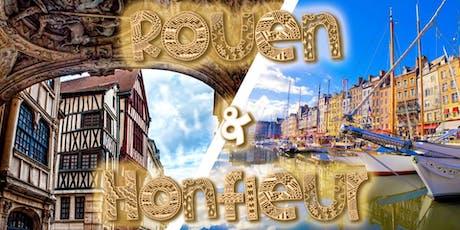 Honfleur & Rouen - DAY TRIP - 29,9€ Super PROMO billets