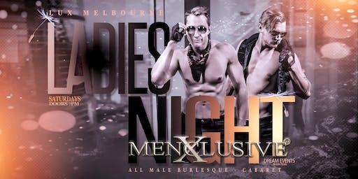 Ladies Night Melbourne - Menxclusive Cabaret 23 Nov