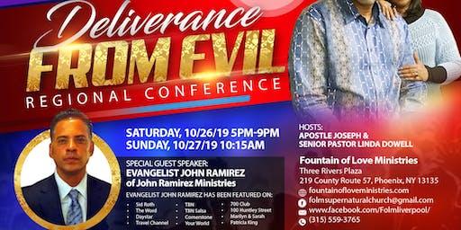 Deliverance From Evil Regional Conference | Evangelist John Ramirez