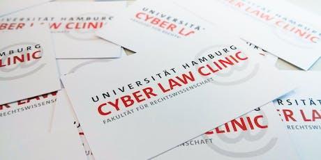 Rechtsberatung zu Internetrecht durch Cyber Law Clinic Tickets