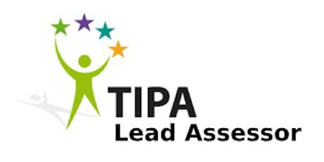 TIPA Lead Assessor 3 Days Training in Washington, DC tickets